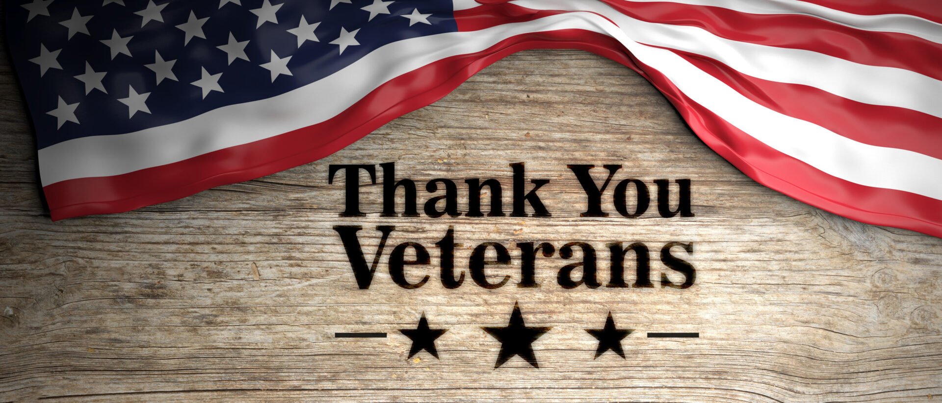A sign of gratitude to veterans
